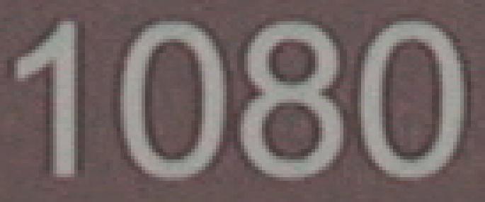 Detalle de compresión de texto en el Apple ProRes 422 HQ de la Matrox MXO2 Mini
