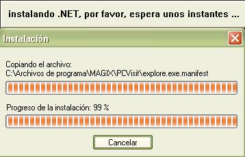 Instalación .NET