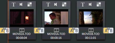 Vistas de edición en Magix Video Deluxe
