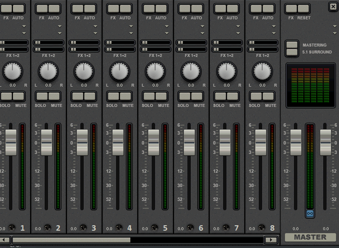 Efectos de audio en Magix Video Deluxe 16