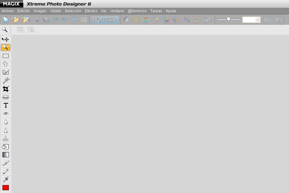 Editor de imágenes integrado en Magix Video Deluxe 16